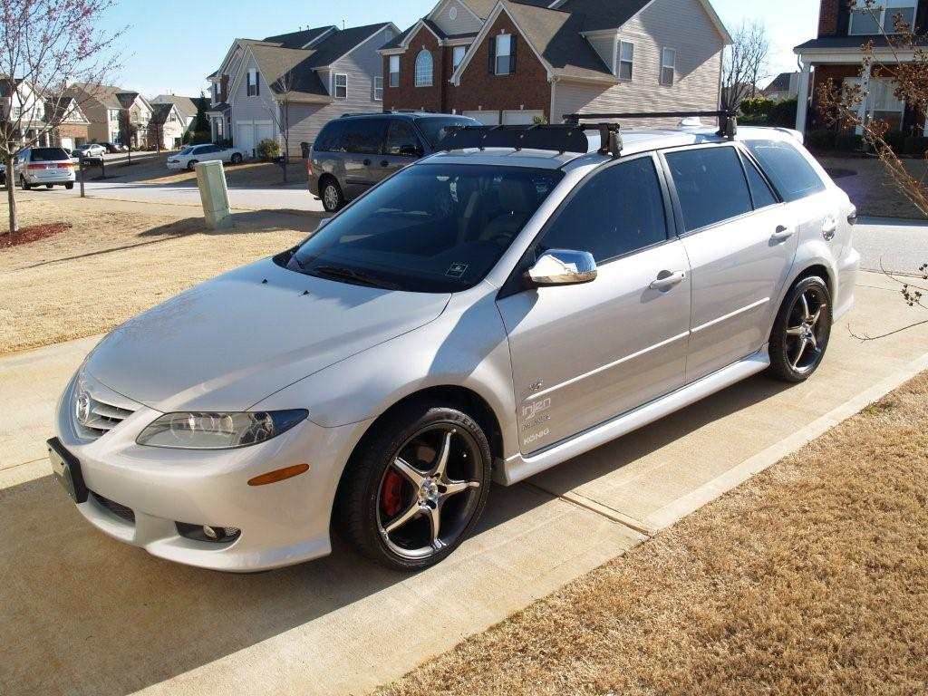 2004 mazda 6 sport wagon v6 related infomation specifications weili automotive network. Black Bedroom Furniture Sets. Home Design Ideas