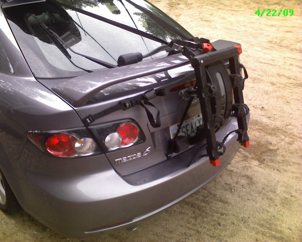 Help Racking Bikes Don T Have Roof Rack Mazda 6 Forums Mazda