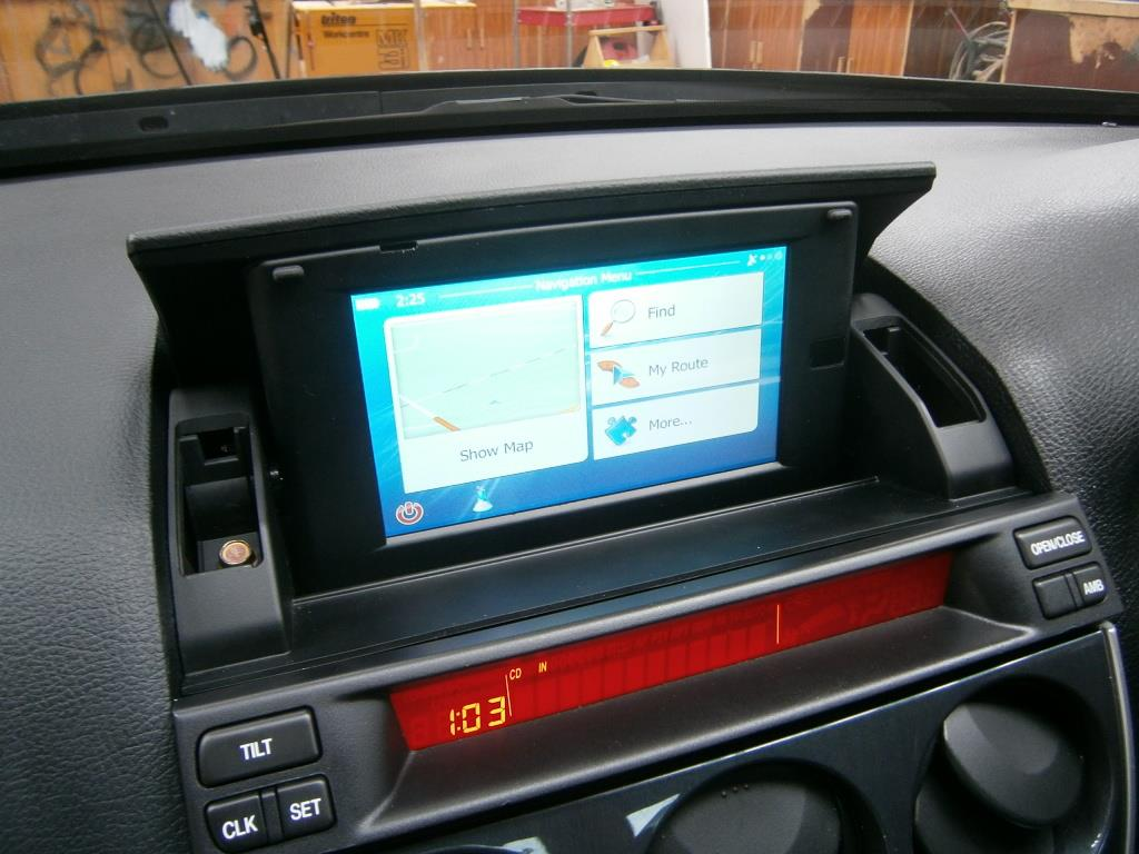 replacing the 7 lcd display mazda 6 forums mazda 6. Black Bedroom Furniture Sets. Home Design Ideas