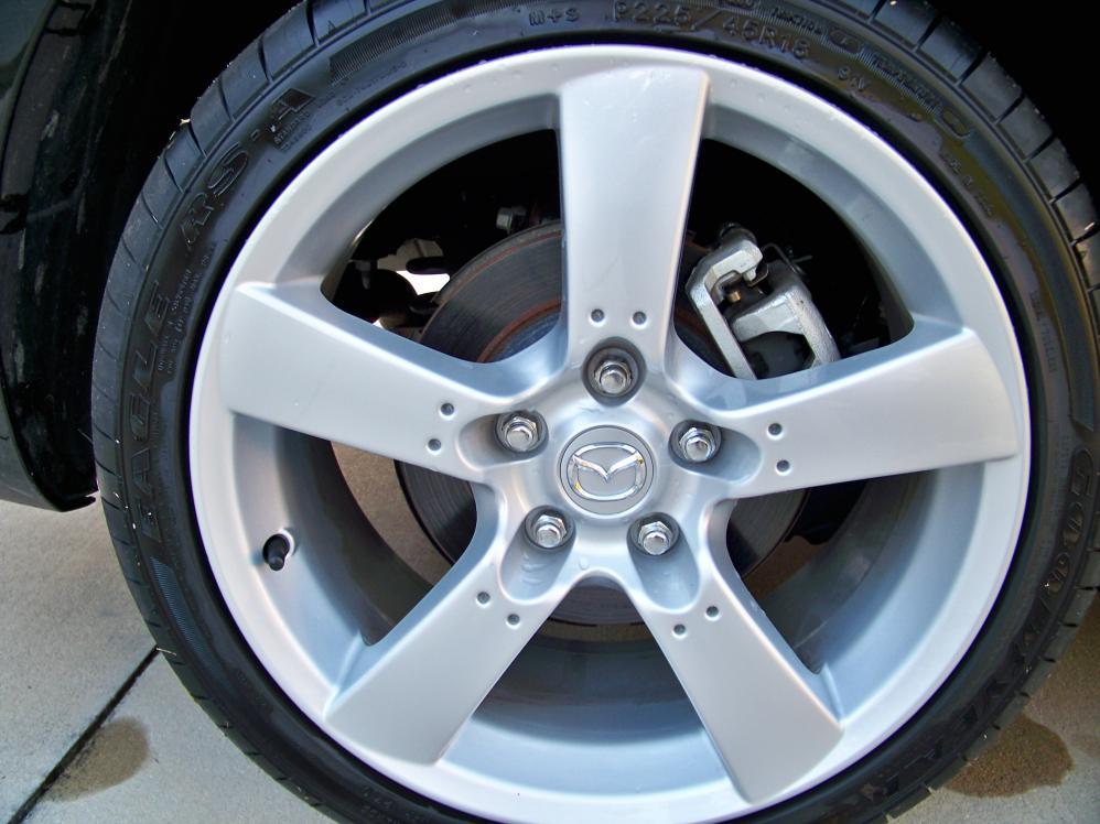 My 2010 6 With Rx8 Rims Mazda 6 Forums Mazda 6 Forum