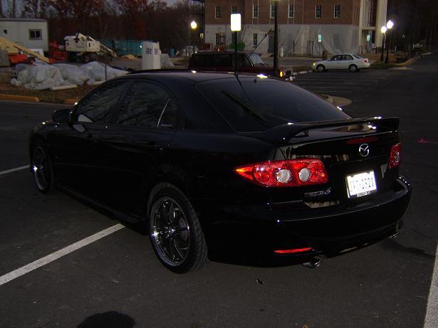2005 Black Mazda 6 Hatchback (Sport) - Mazda 6 Forums : Mazda ...