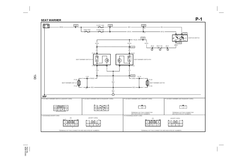 40 Mazda 40 Heated Seat Wiring Diagram   Fusebox and Wiring ...