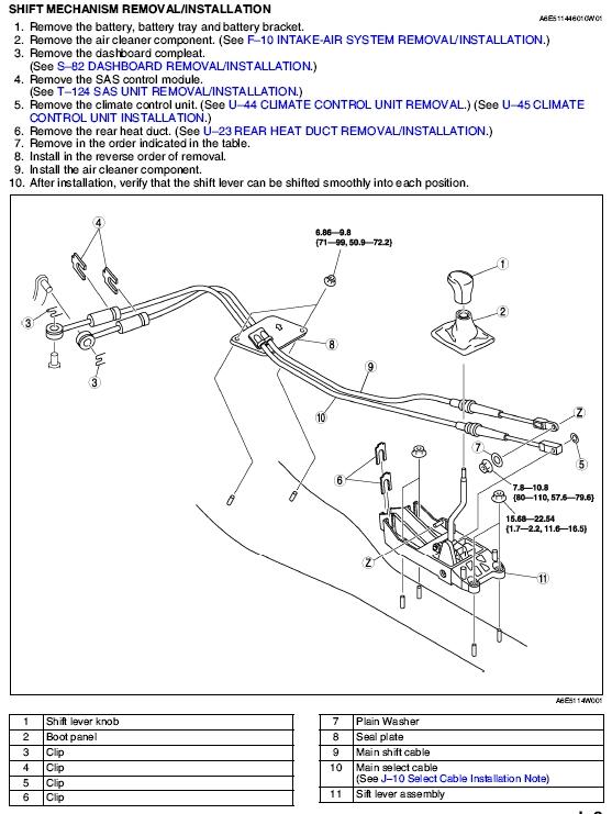 mazda 6 shifter diagram wiring diagrams rh 43 shareplm de Mazda 3 Transmission Diagram Mazda 3 Transmission Diagram