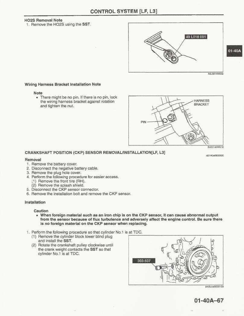 2004 Mazda 3 Cranking System Wiring Diagram Circuit Schematic 2011 Crankshaft Position Sensor I Really Need Some Information Guys
