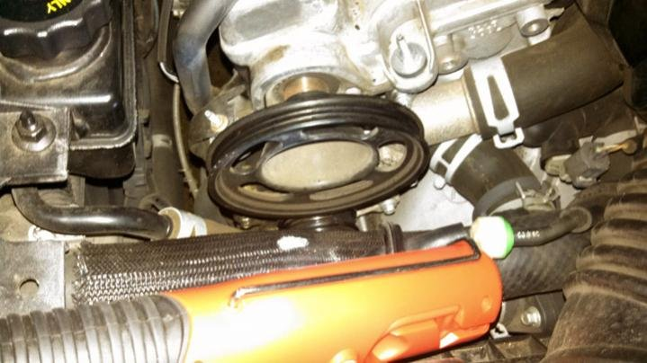 Water Pump replacement//Coolant T By-Pass | Mazda 6 Forums