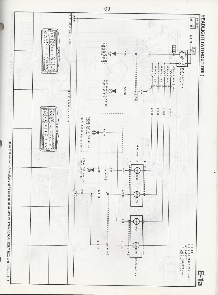 2004 Mazda 6 Fog Light Wiring Diagram