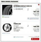 10-17 M6 Wheel and Tire Order.JPG
