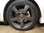 2004 Mazda 6 with 320mm Mazdaspeed 6 brakes and RX8 18ince wheels.jpg