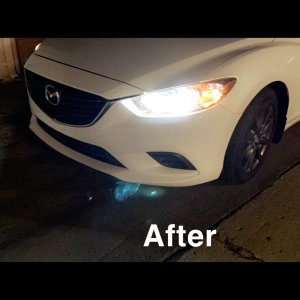 LED Headlight Swap